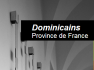 dominicains-province-de-france