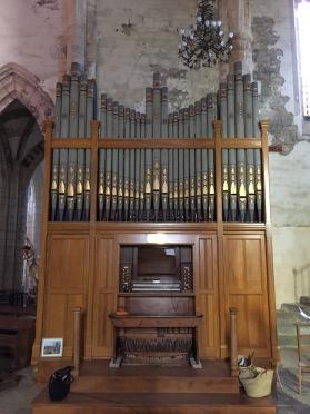 Les nouvelles orgues de Marcilhac