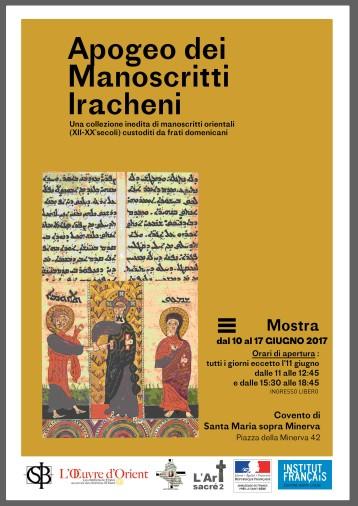 Affiche A3 Manuscrits Irakiens (1)