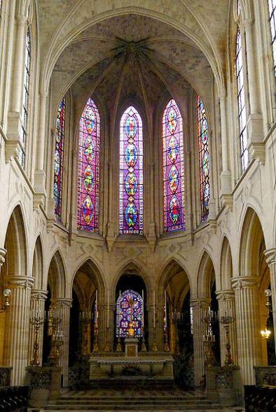 Chœur, Saint-Germain-l'Auxerrois, Paris, Ier